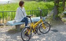 引越し後の街の散策には、自転車がオススメ